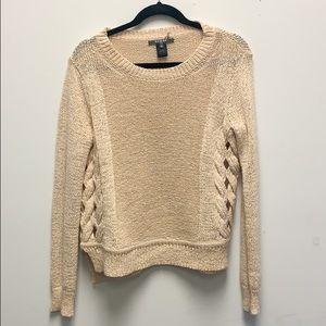 Scoop NYC cream sweater